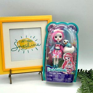 New Enchantimals Saffi Swan and Poise Doll